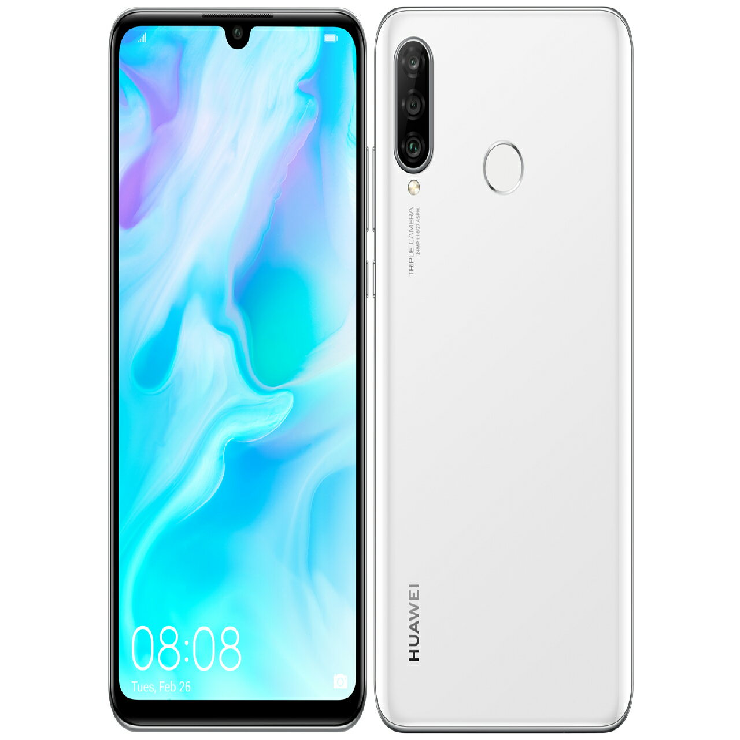 Huawei (ファーウェイ) Huawei P30 Lite Pearl White「51093nrv」kirin 710 6.15型 Nano Sim X2 Dsdv対応 Simフリースマートフォン P30litewhite
