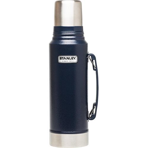 スタンレー クラシック真空ボトル 1L ネイビー 01254-050(1コ入)の写真