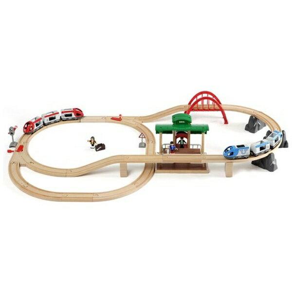 Brio (ブリオ) World トラベルレールセット [ 木製レール おもちゃ ] 33512