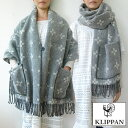 KLIPPAN ストール ボタン ポケット付き スタークロス eco wool S画像