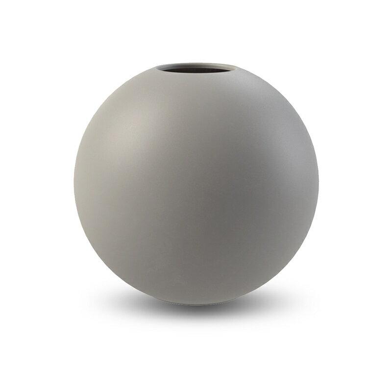 cooee design ボールフラワーベース グレー