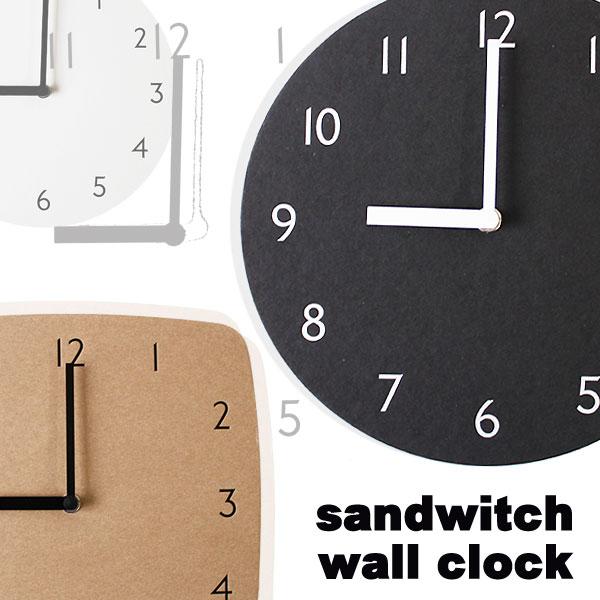 サンドウィッチ ウォールクロック