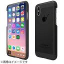 MOTOMO iPhone X用 INO Metal BR3 ブラック INO8BR3BK画像