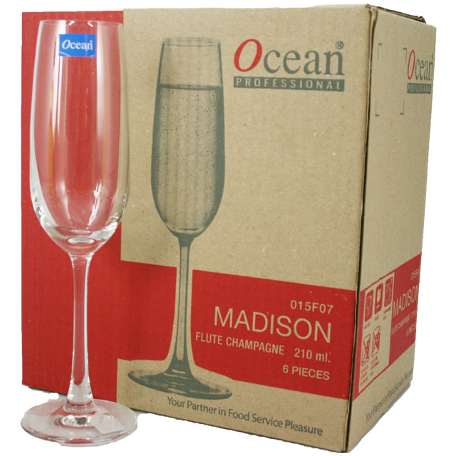 マディソン ワイングラス フルートシャンパーニュ 1個の写真