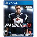 PS4 北米版 Madden NFL 18 EA Sports画像