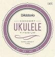 EJ87C ウクレレ弦Titanium Ukulele, Concert / Daddario