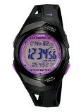 (カシオ)CASIO 腕時計 PHYS フィズ ランナーウォッチ LAP MEMORY60 TOUGH BATTERY10 STR-300-1C パープル