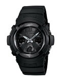 CASIO G-SHOCK 腕時計 AWG-M100B-1A オールブラック
