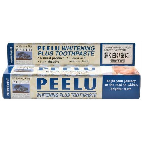 ピールトゥースペースト ホワイトニングプラス ペパーミント 85g