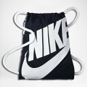 バスケットバッグ サックバック ナイキ Nike Bag NSW Gymsack Nvy/Wht画像