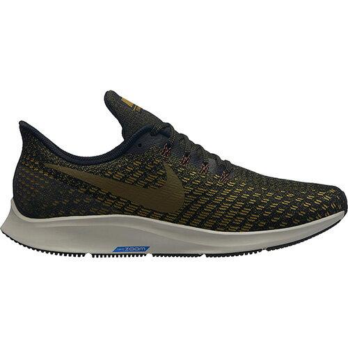 ナイキ Nike メンズ ランニングシューズ ズーム ペガサス 35 ブラックオリーブフラック 942851 011