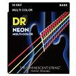 DR NEON MULTI-COLOR ベースギター弦 DR-NMCB45