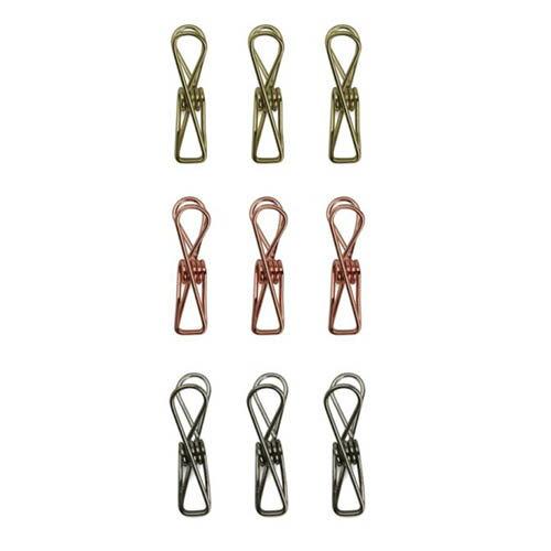 ワイヤーバッグクリップ Wire Bag Clips シルバー ゴールド コッパー キッカーランド