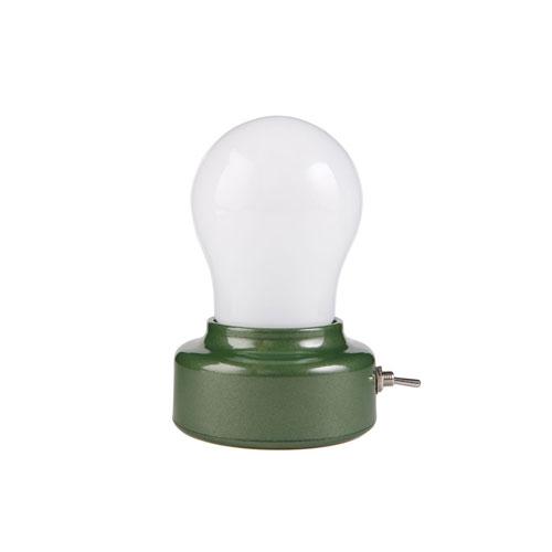 Bulb Light バルブライト 乾電池式 レトロ 間接照明 インダストリアル KIKKERLAND DETAIL