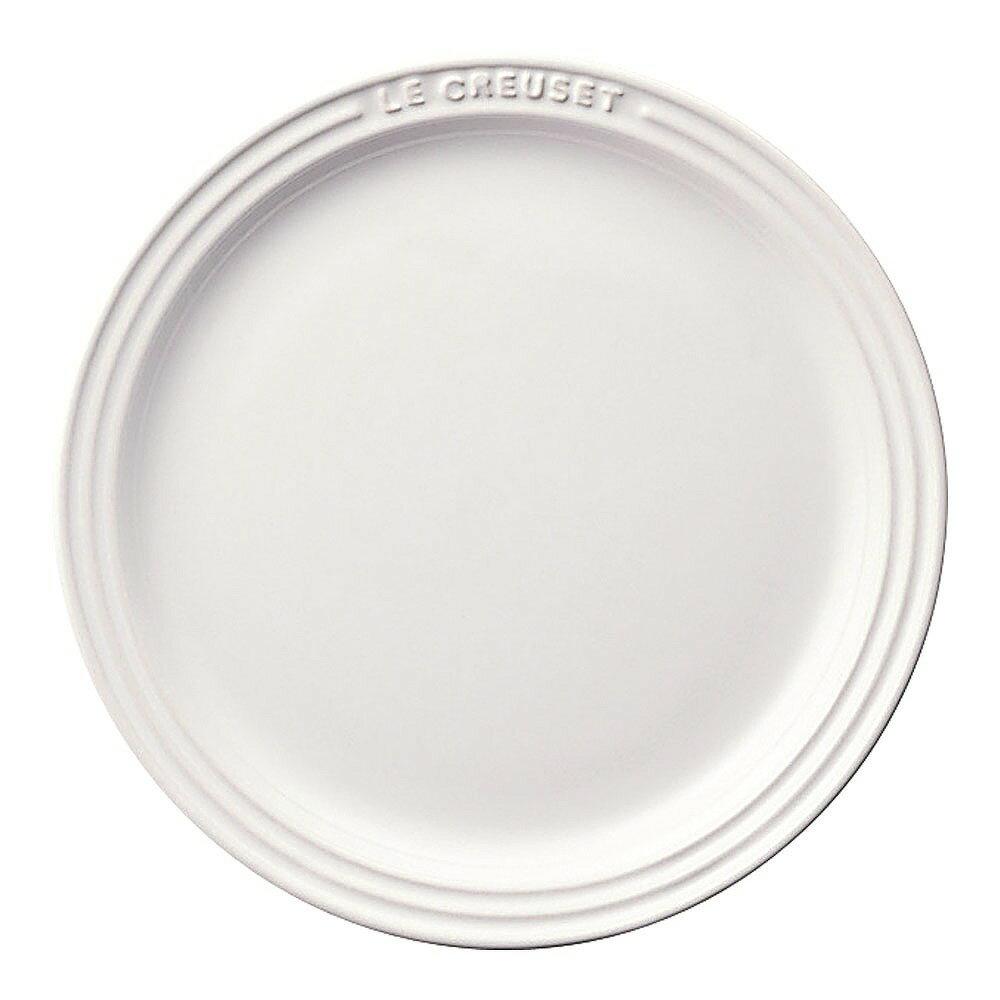 ル・クルーゼ ラウンド・プレート・LC ホワイト 910140-19 RLK0911の写真