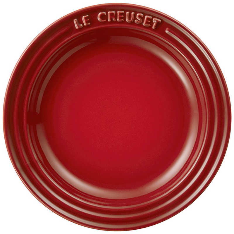 ル・クルーゼ Le Creuset 2019 Simple Cooking ラウンド・プレート LC 15cm チェリーレッド 60201150600014