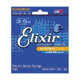 Elixir エリクサー エレキギター弦 12002