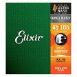 ELIXIR/エリクサー エレクトリックベース4弦用セット弦 NANOWEB Medium/ナノウェブミディアム