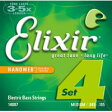 14087 ELIXIR エリクサー エレキベース弦 .045-.105 エクストラ・ロングスケール Elixir NANOWEB Medium / Extra Long Scale 14087ELIXIR