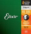 ELIXIR 14677 Stainless Steel with NANOWEB Medium ベース弦