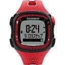 ガーミン GPSマルチスポーツウォッチ ForeAthlete15J RedBlack ForeAthlete15JRB画像