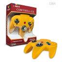 イエロー nintendo64コントローラー ゲームコントローラー N64 Cirka Controller