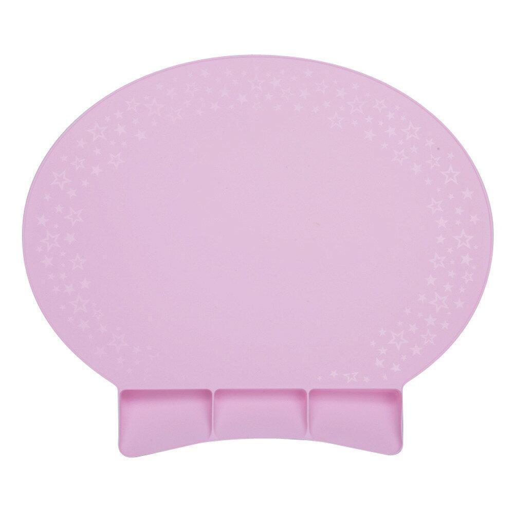 ポケット付お食事マット (ピンク)の写真