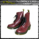 Dr.Martens CLEMENCY LACE SHOES C.RED レディース画像