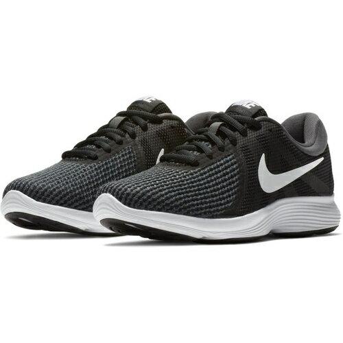 Nike ランニング レディースジョギングシューズ ナイキ ウィメンズ レボリューション 4 レディース ブラックホワイトアンスラサイト 908999-001