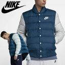 ジャケット ウェア 物 NIKE Fill Down Bomer Jacket Blu ストリート MEN'S